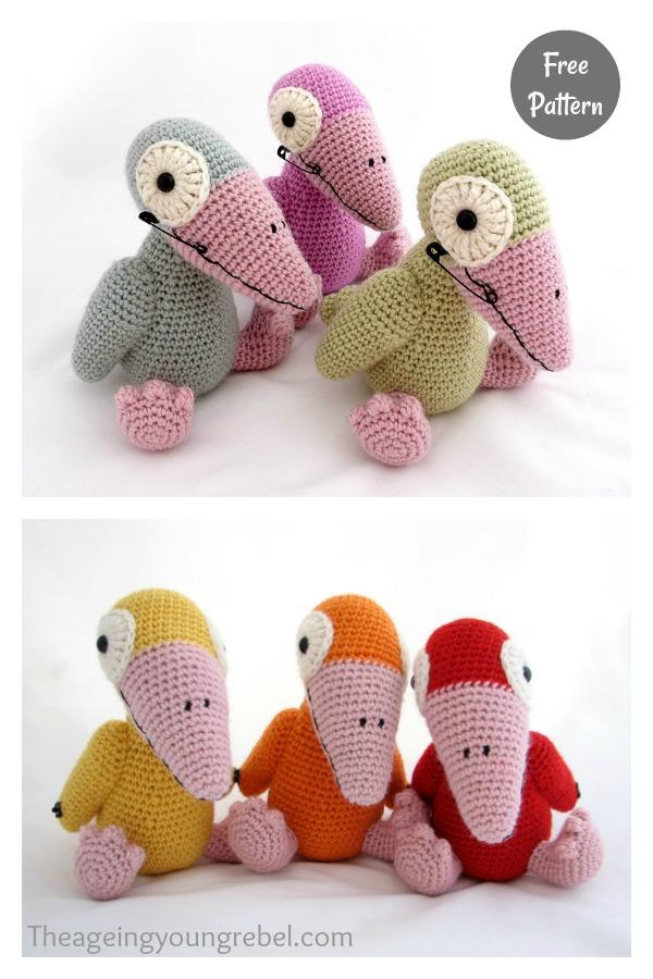 Amigurumi Jazz Crow Free Crochet Pattern