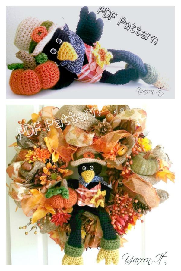 Amigurumi Joe the Crow Crochet pattern