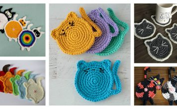 Cat Coaster Crochet Patterns