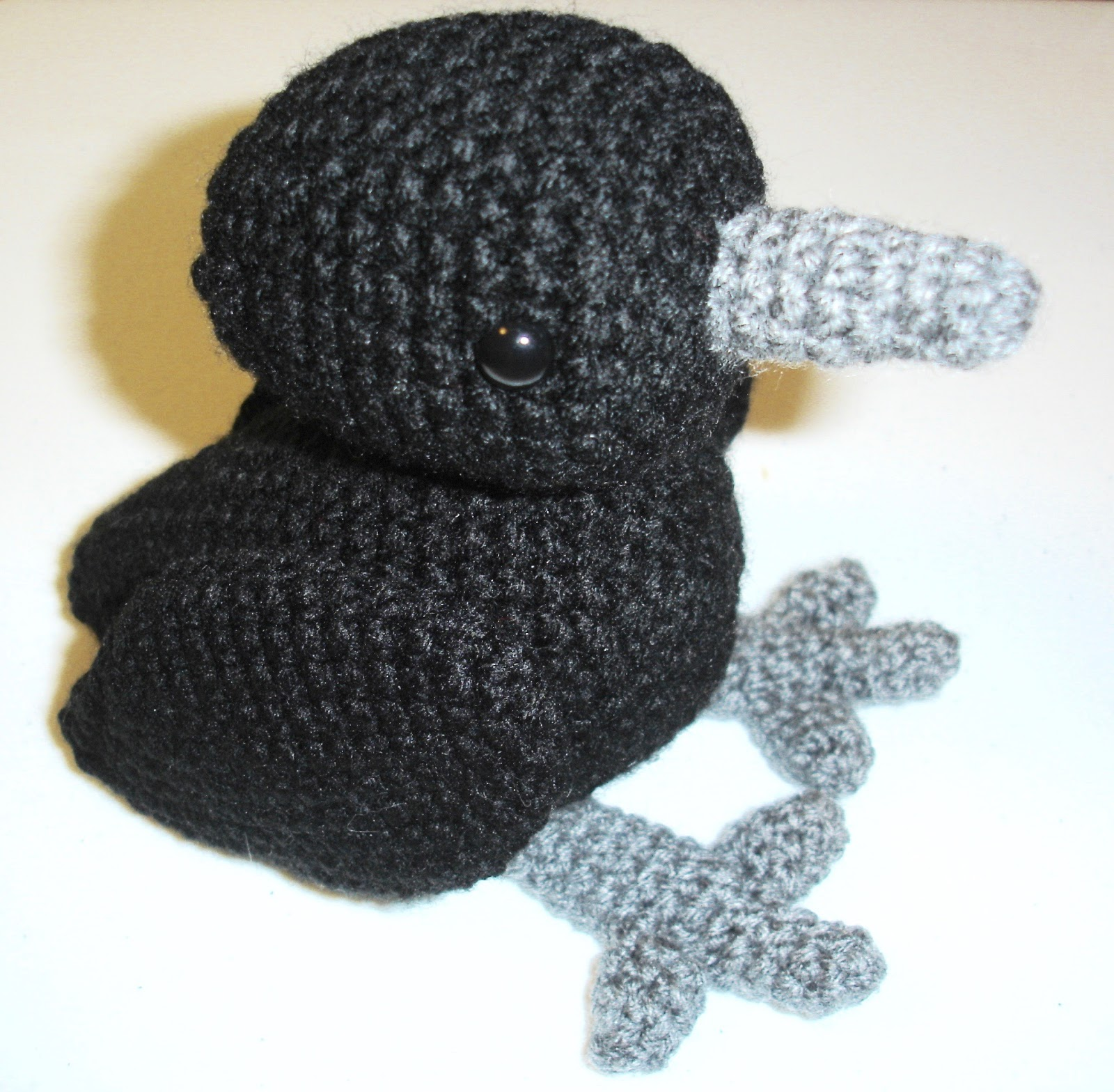 Crow Amigurumi Free Crochet Pattern