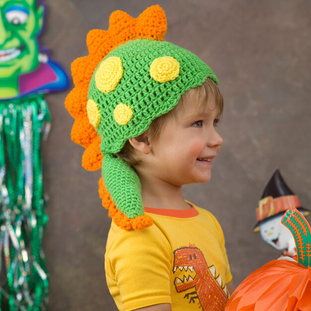 Dragon Hat Free Crochet Pattern