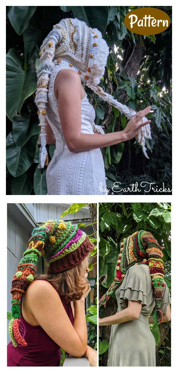 Fae Elf Hat Crochet Pattern
