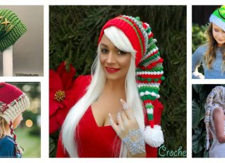 Fancy Elf Hat Crochet Patterns