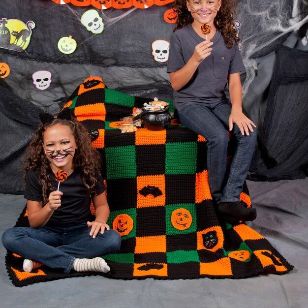 Halloween Blanket Free Crochet Pattern