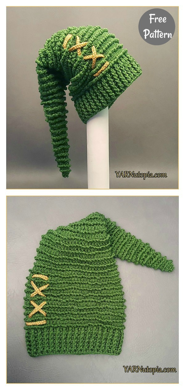 Link to the Past Stocking Cap Free Crochet Pattern