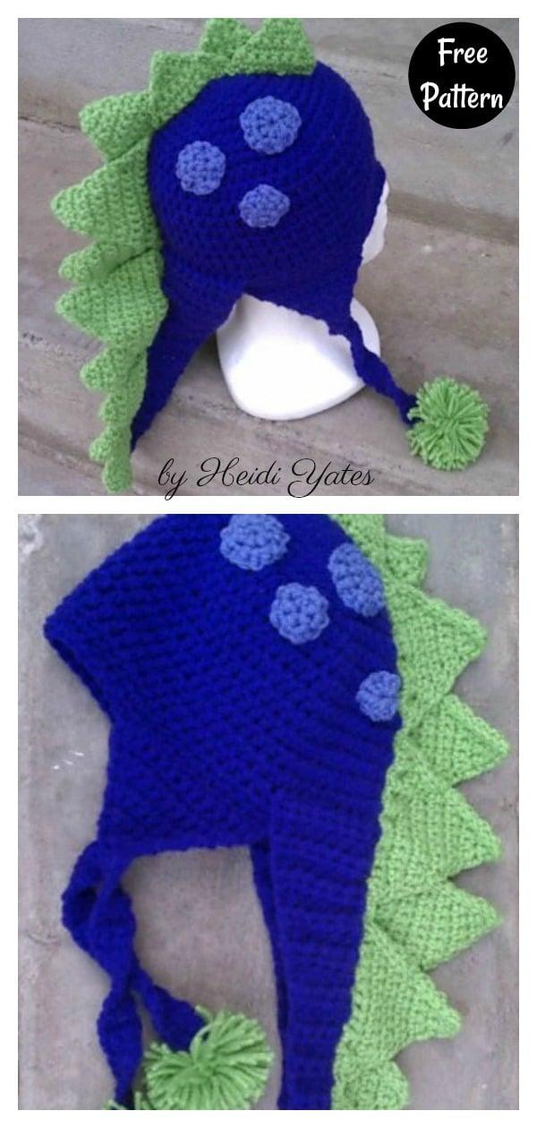 Spike Hat Free Crochet Pattern