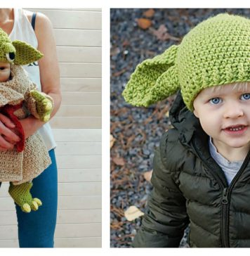 Baby Yoda Outfit Crochet Pattern