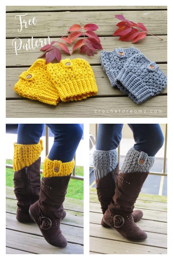 Bailey Boot Cuffs Free Crochet Pattern