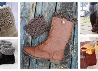 Boot Cuffs Free Crochet Patterns