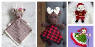 Christmas Baby Lovey Crochet patterns