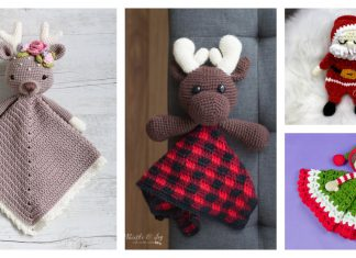 Christmas Baby Lovey Crochet patterns