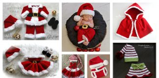 Christmas Baby Outfit Crochet Patterns