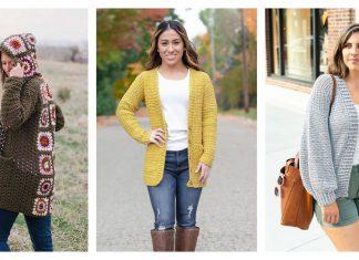 Everyday Cardigan Free Crochet Patterns