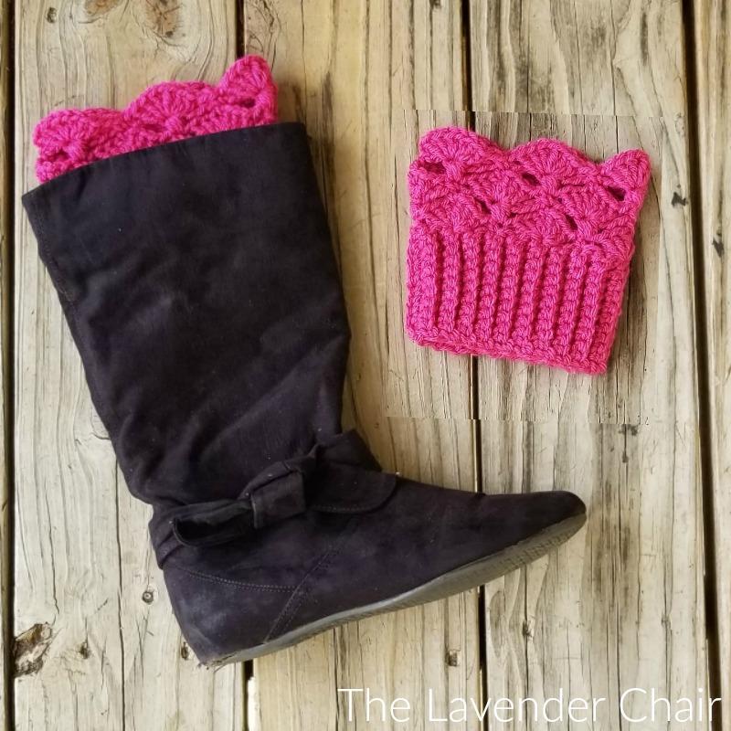 Francesca Boot Cuffs Free Crochet Pattern