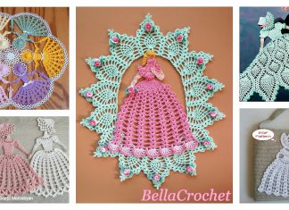 Lovely Lady Doily Crochet Patterns