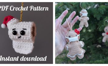 2020 Christmas Ornament Crochet Patterns