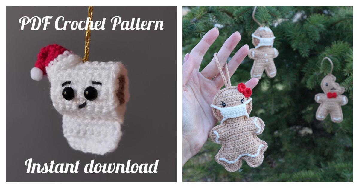 2020 Christmas Ornament Crochet Patterns