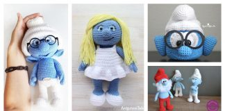 Adorable Smurf Crochet Patterns