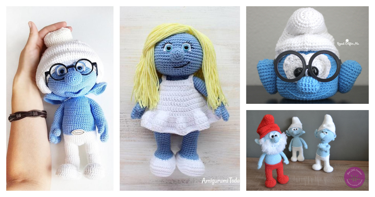 10 Adorable Smurf Crochet Patterns Free and Paid - Page 2 of 2