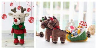 Amigurumi Christmas Reindeer Crochet Patterns