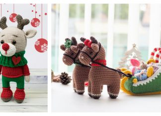 Amigurumi Christmas Reindeer Crochet Patterns