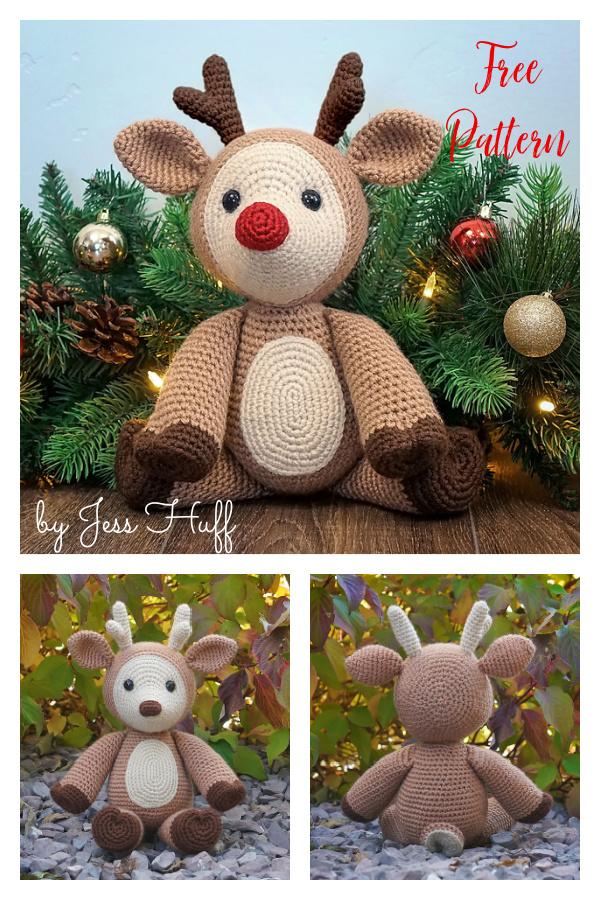 Amigurumi Dash the Deer Free Crochet Pattern