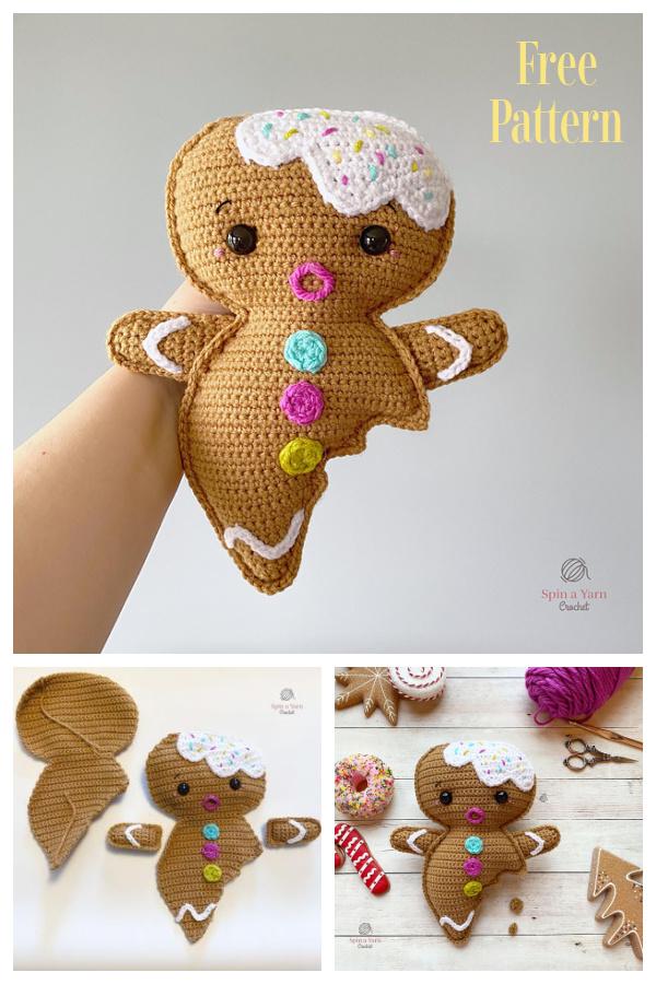 Amigurumi Gingerbread Boy Free Crochet Pattern