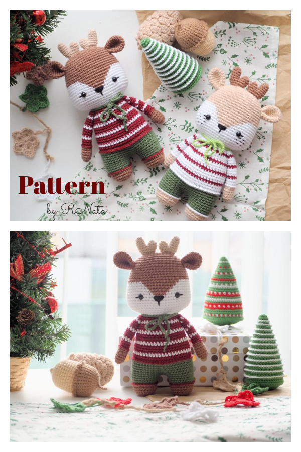 Amigurumi Reindeer Crochet Pattern