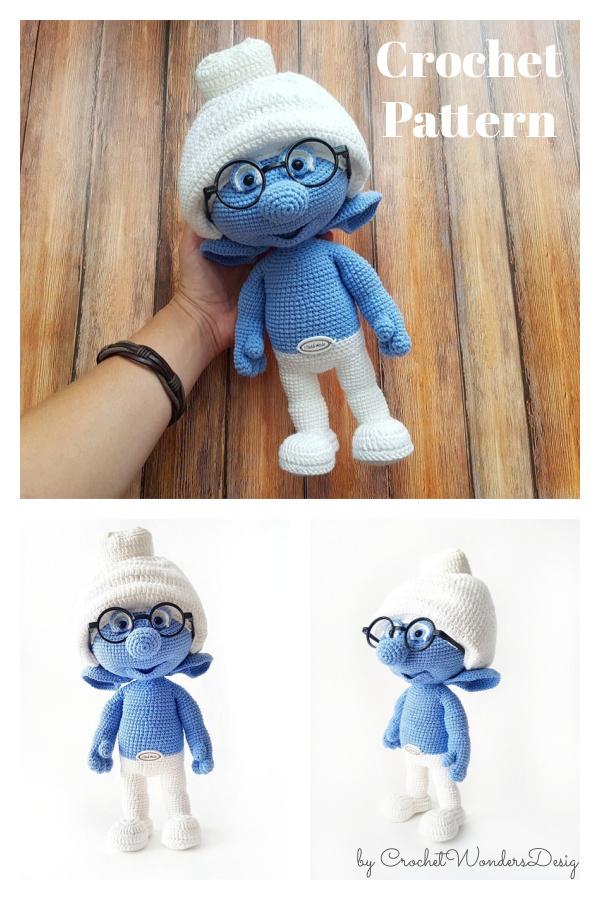 Amigurumi Smurf Crochet Pattern