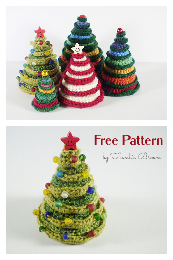 Going Round in Circles Christmas Tree Free Crochet Pattern