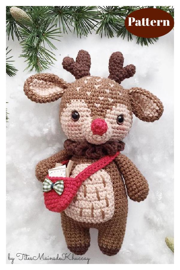 Little Amigurumi Reindeer Crochet Pattern