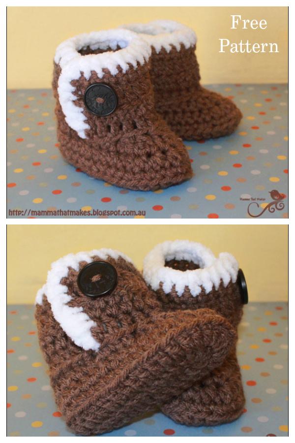 Little UggieBooties Free Crochet Pattern