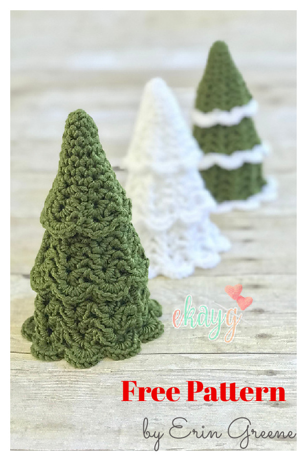 Nesting Christmas Tree Free Crochet Pattern