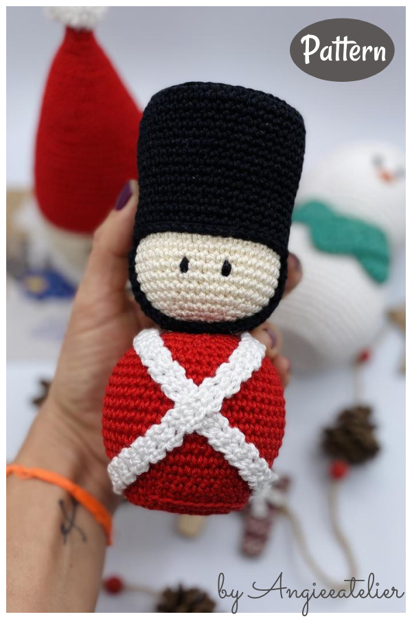 Nutcracker Soldier Crochet Pattern