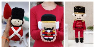 Nutcracker Soldier Crochet Patterns