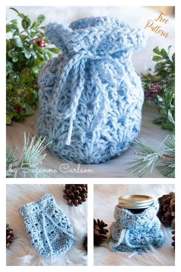 Round Base Gracie Gift Bag Free Crochet Pattern