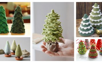 Simple Christmas Tree Crochet Patterns