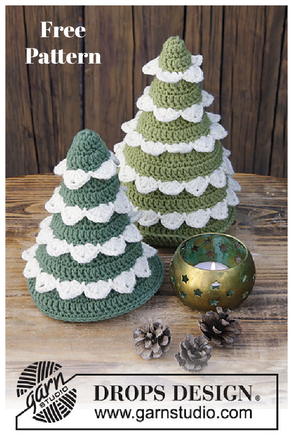 The Christmas Forest Free Crochet Pattern