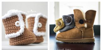 Ugg Style Baby Booties Crochet Patterns