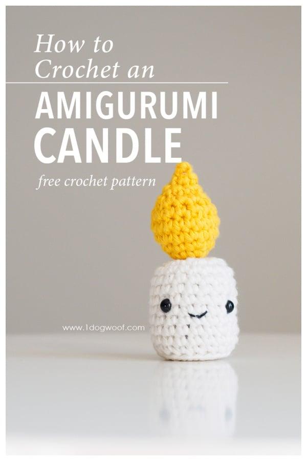Amigurumi Candle Free Crochet Pattern