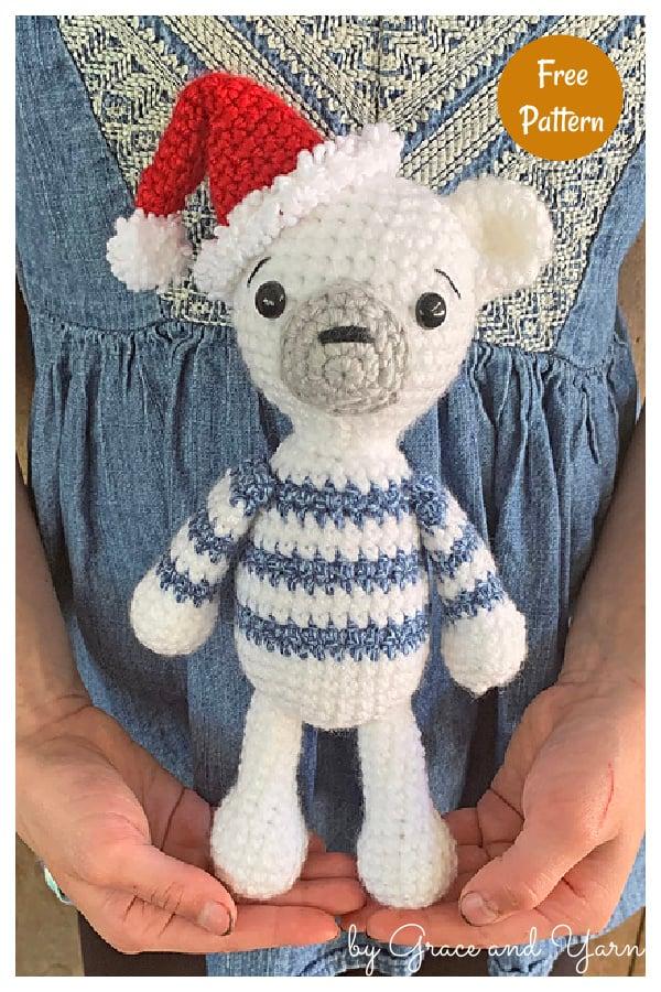 Amigurumi Polar Bear Free Crochet Pattern