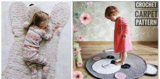 Bear Rug Crochet Patterns