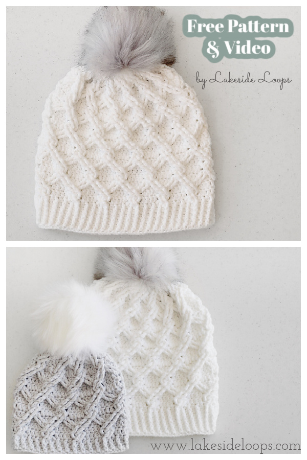Camdyn Cable Hat Free Crochet Pattern