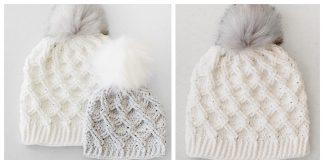 Camdyn Cable Hat Free Crochet Pattern