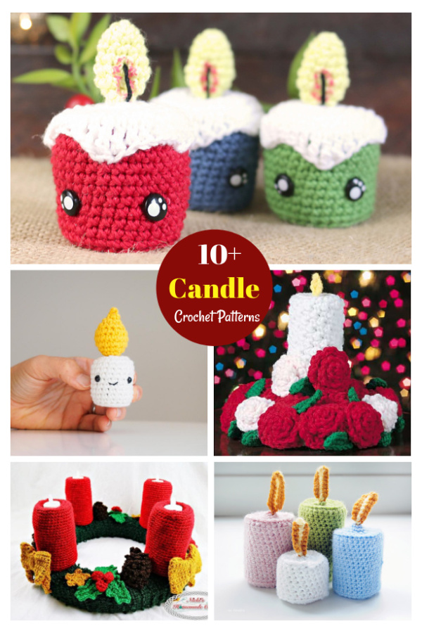 10+ Candle Crochet Patterns