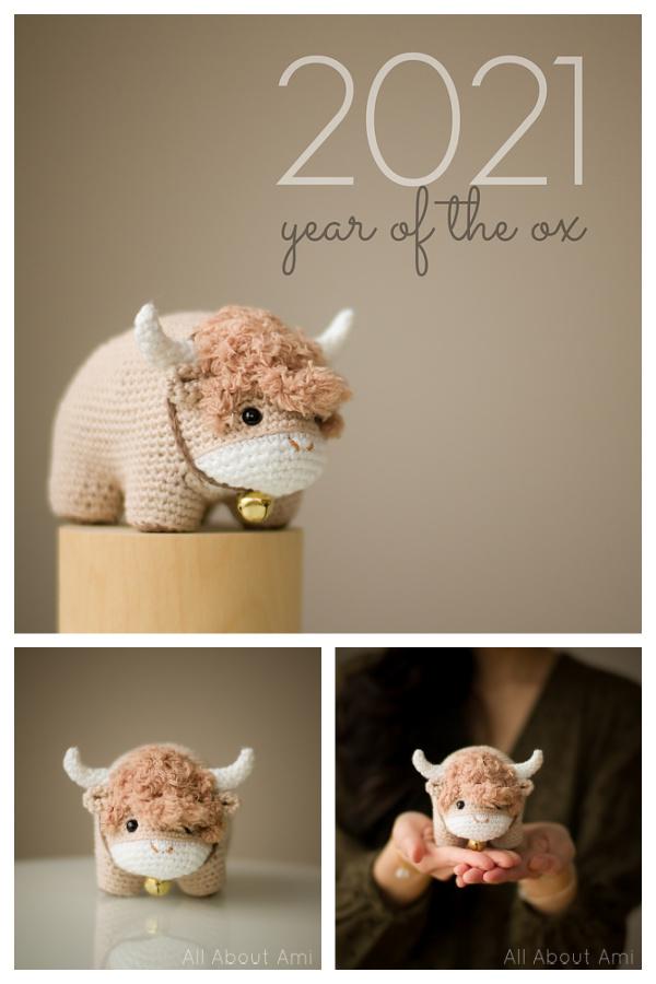 Chinese New Year Ox Free Crochet Pattern