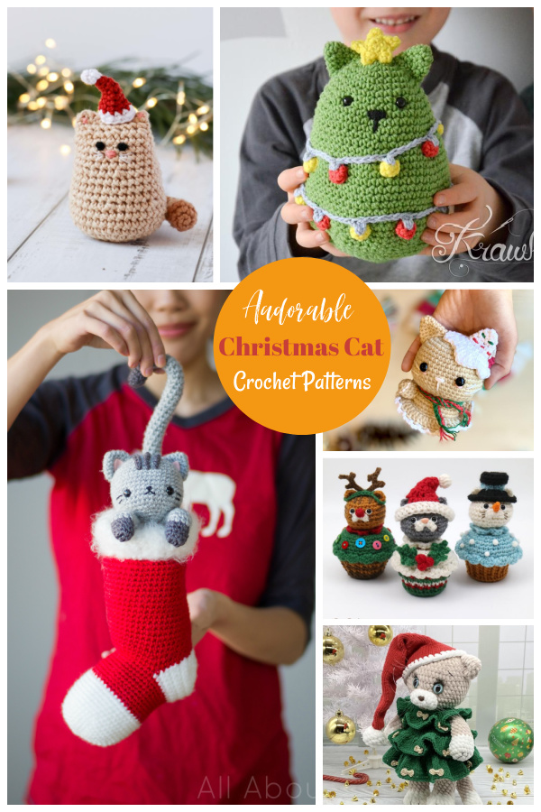 Christmas Cat Crochet Patterns