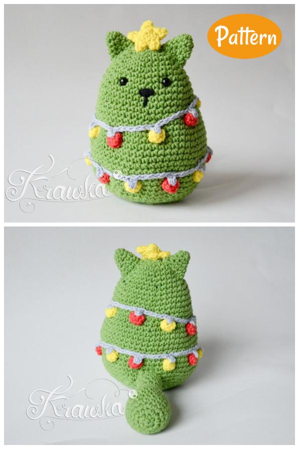Christmas Cat Tree Crochet Pattern