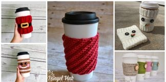 Christmas Mug Cozy Free Crochet Patterns