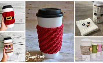 Christmas Mug Cozy Free Crochet Patterns